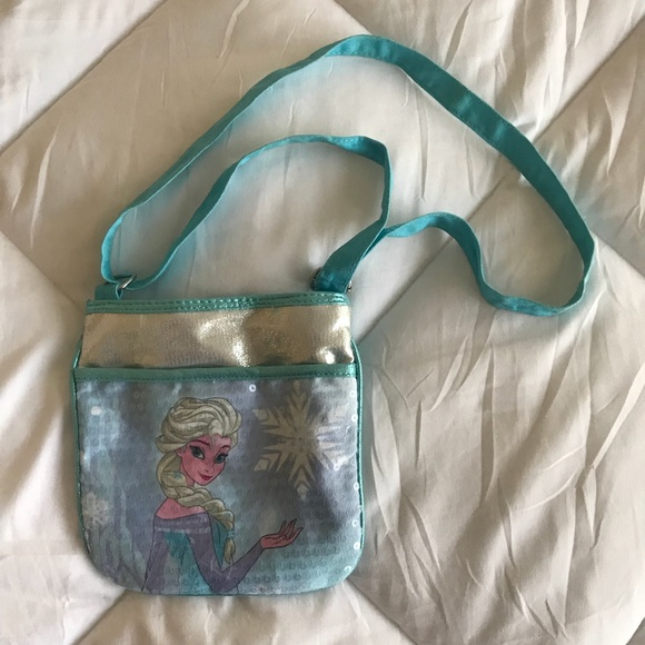 cdf3707503db Girls Frozen Elsa purse